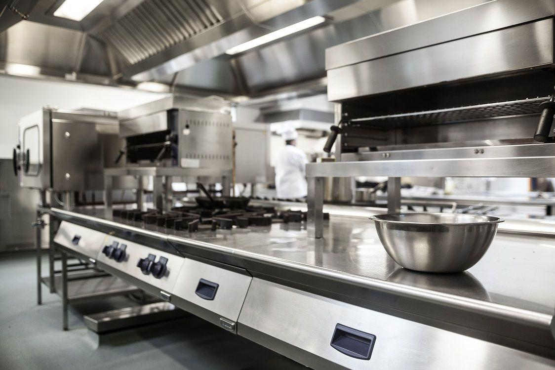 commercial kitchen gas line